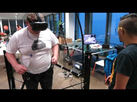 Cyberith Virtualizer na vikendovem hackathonu