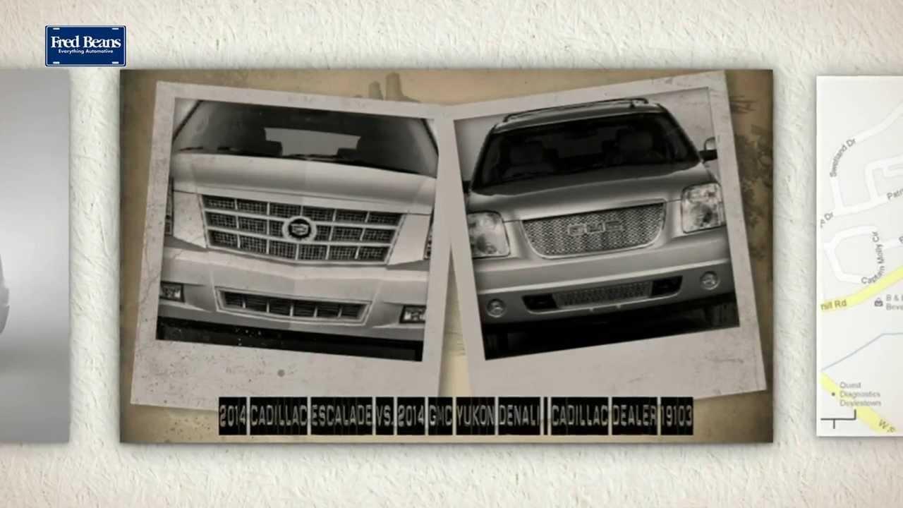 Cadillac Escalade Vs GMC Yukon Denali Cadillac Dealer - Gmc cadillac dealer