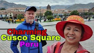 CUSCO SQUARE  & CUSCO CATHEDRAL, A WORLD HERITAGE SITE IN PERU