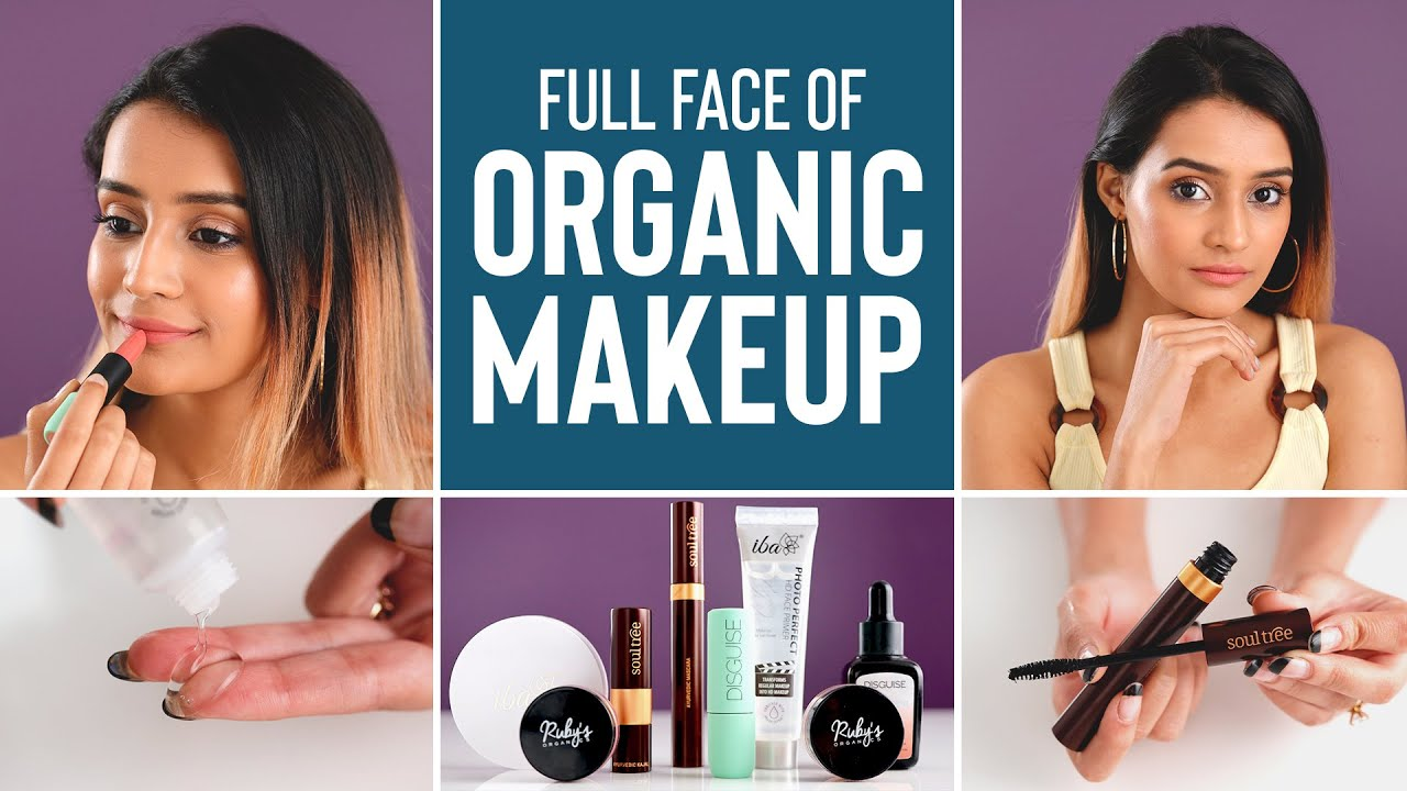 Natural & Organic Makeup Products That Won't Cause ACNE   Affordable, Safe  & Easy To Apply
