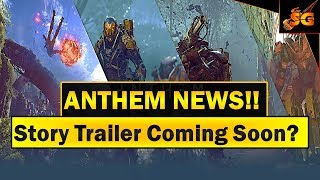 Anthem news!! possible story trailer at vga this year? bioware have just reached a milestone!!