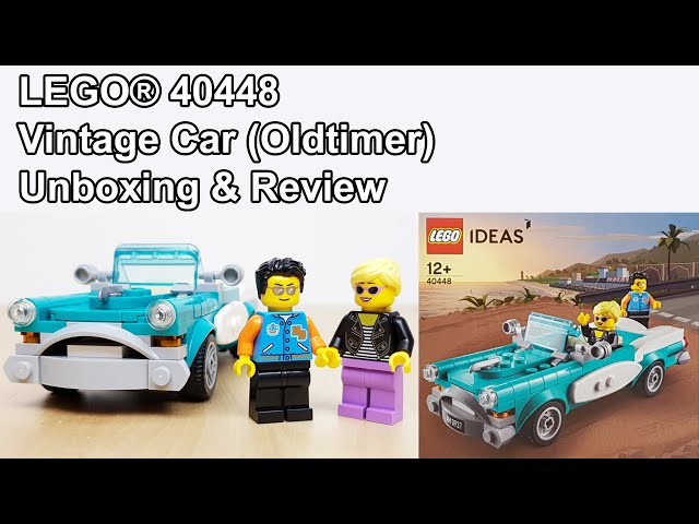 LEGO® 40448 Vintage Car Unboxing & Review (50er Jahre Oldtimer)
