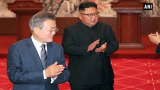 Kim, Moon affirm to build peace on Korean Peninsula