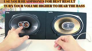Polk Audio DB691 VS JBL Club 9630 car audio subwoofers midbass midrange speaker test