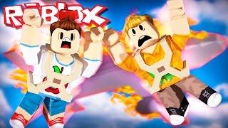Roblox Adventures - SKYDIVING DESDE UN PLANO EXPLODING! (Roblox Paracaidismo)