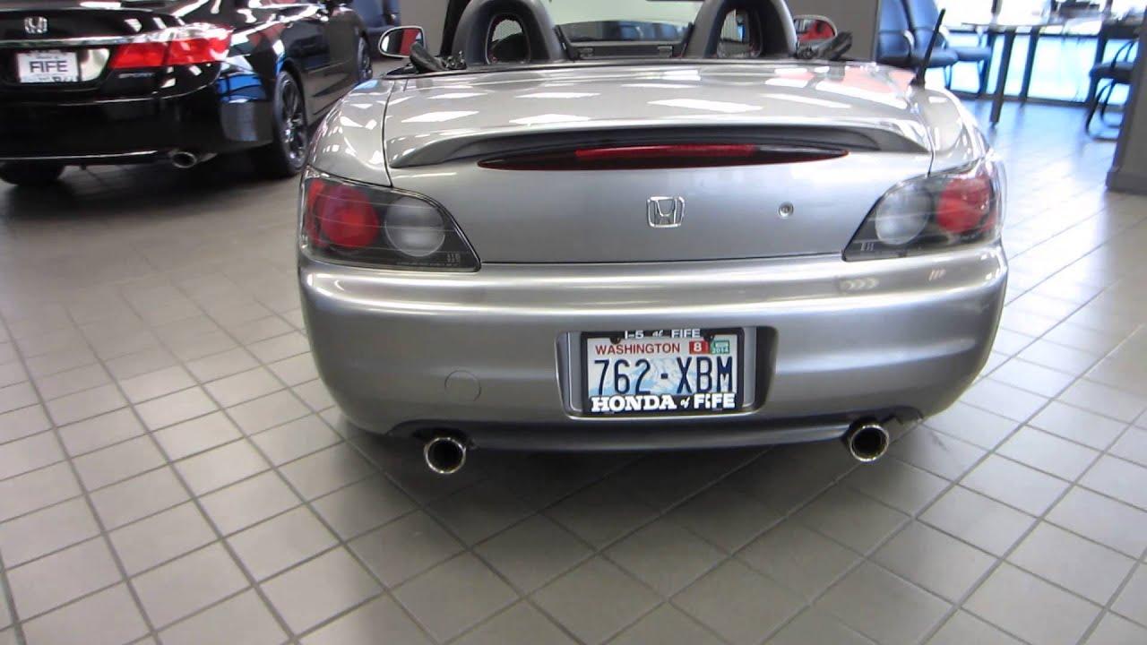 2000 Honda S2000 Silverstone Metallic Stock 731387