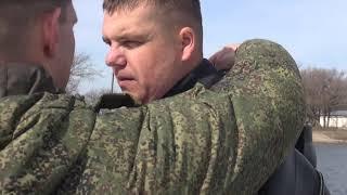 Видео: военные водолазы тестируют новое снаряжение под Волгоградом