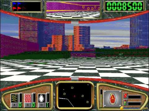 Hover gameplay (PC Game, 1995)