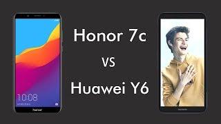 Honor 7C VS Huawei Y6 Prime 2018 | Which Smartphone is Best?