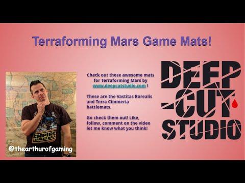 Terraforming Mars Game Mats by Deep Cut Studios  