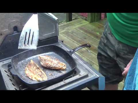 Blackened Fish Recipe -- easy spicy fish dish from YouTube · High Definition · Duration:  2 minutes 41 seconds  · 51,000+ views · uploaded on 4/19/2012 · uploaded by Chef Buck