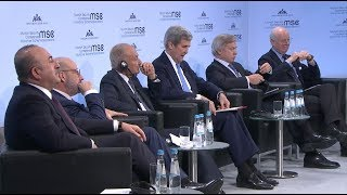 Munich Security Conference 2018, 18 February 2018, 11:30 am Panel D...