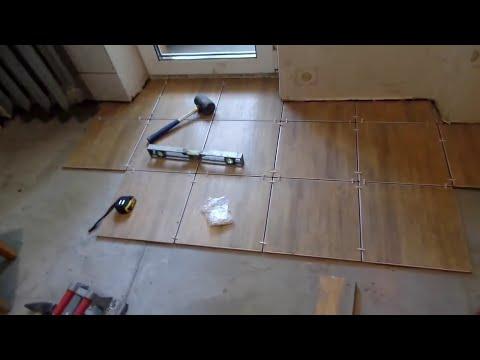 Как положить плитку на пол самостоятельно Полезные советы по укладки напольной плитки