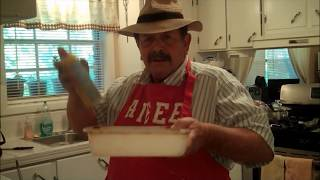 How To Make A Cornbread Or Johnny Cake From Scratch...cajun Style!
