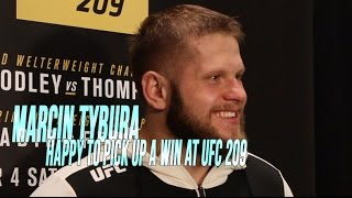 Marcin Tybura speaks on his win at UFC 209