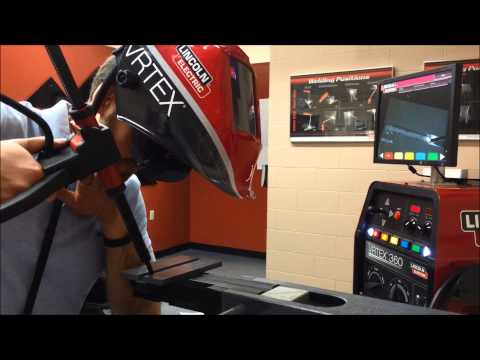 White Mountains Community College Virtual Welder Faceoff