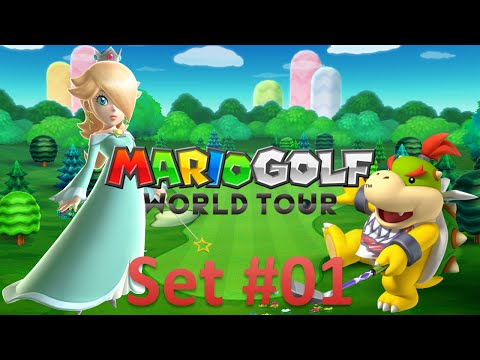 Mario Golf World Tour - Online Multiplayer -- Set 1: Forest Course (Holes 1-9)