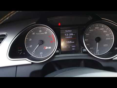 Audi S5 exhaust sound