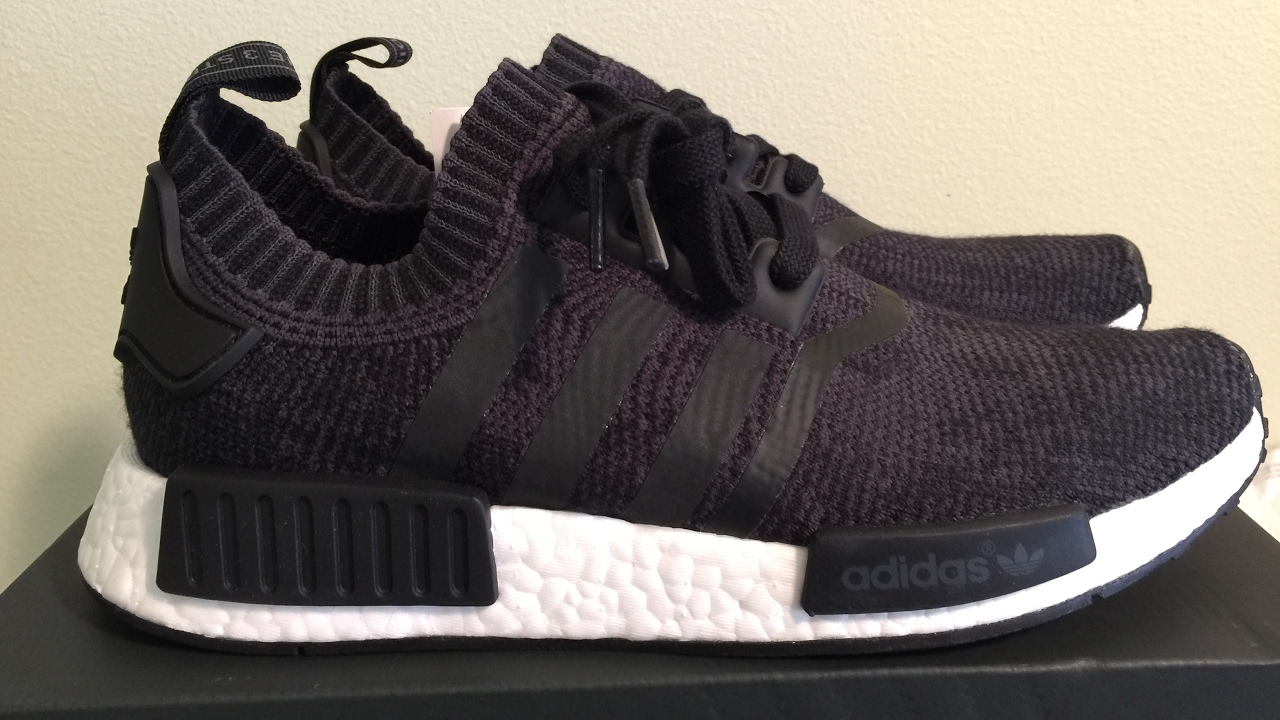 Cheap Adidas NMD R1 Glitch Core Black Camo in size 13 for sale · Slang