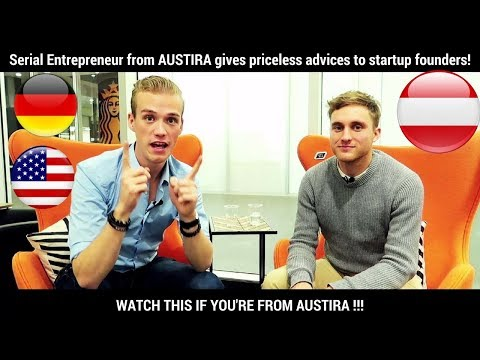 WATCH THIS BEFORE BUILDING THE NEXT FACEBOOK! Advice from Austrian startup founder