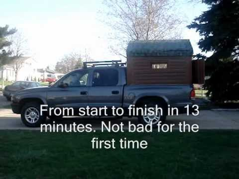 Collapsible Truck Camper Video 0001 Wmv Youtube