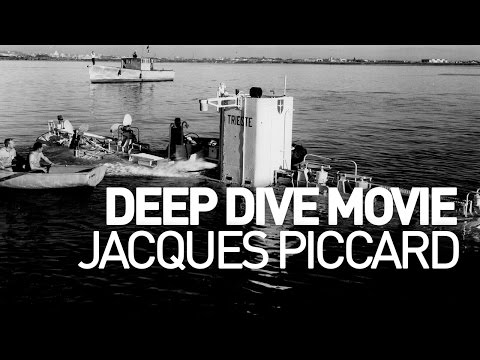 Jacques Piccard - Deep Dive Movie © Rolex