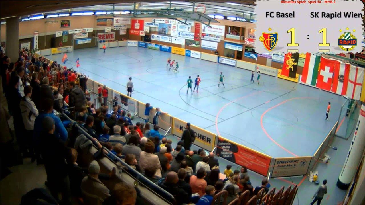 Mhb Stumm Cup 2014 U10 Fc Basel Sk Rapid Wien Youtube