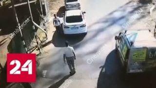 Битами и лопатами: уроженцы Чечни жестоко избили полицейского на переправе в Тюмени - Россия 24