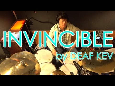 DEAF KEV - Invincible ~DRUM COVER~ playing by Music Salon AIRY