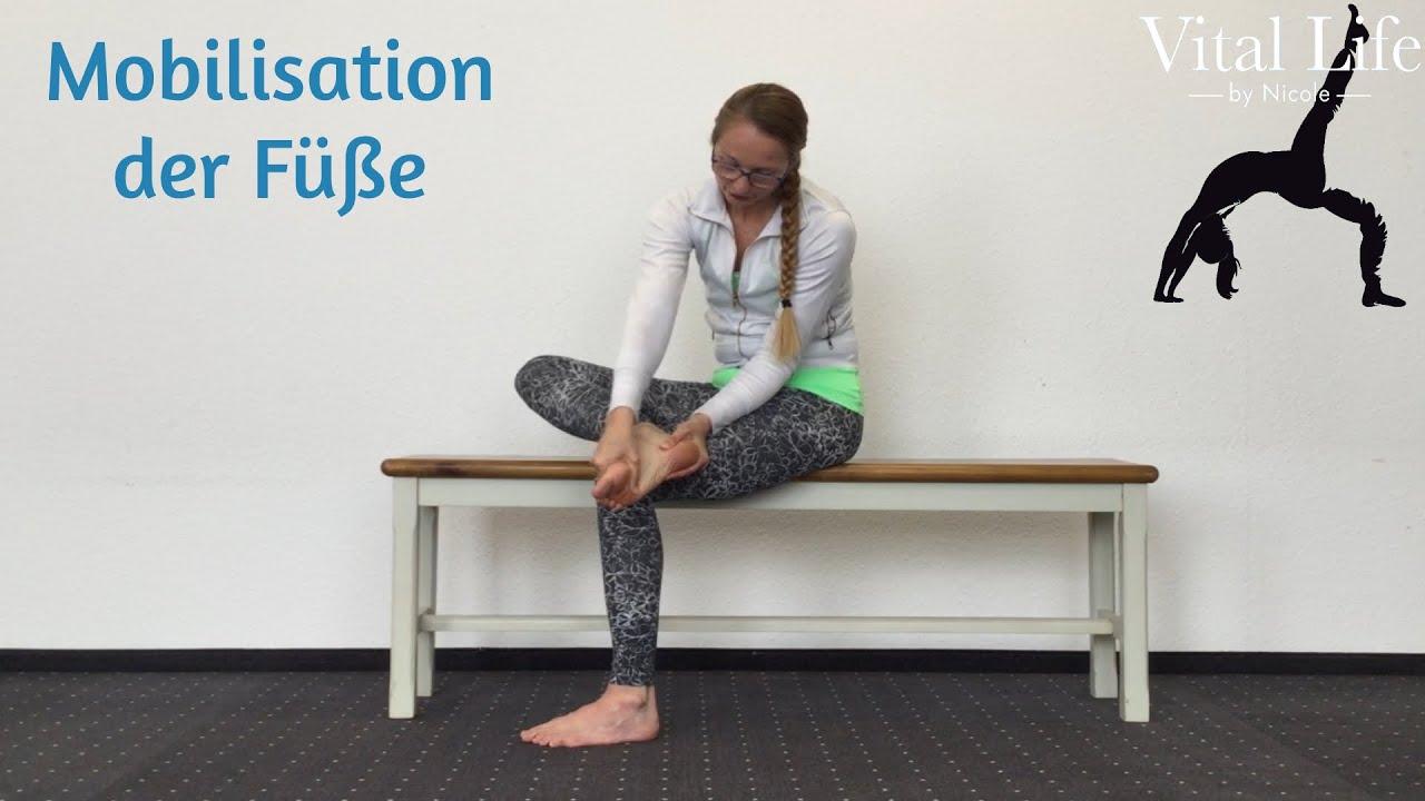 Mobilisation der Füße