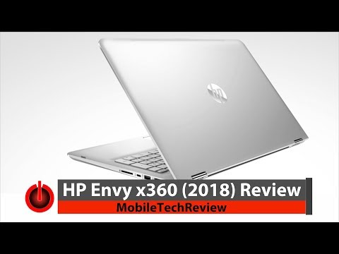 HP Envy x360 15t Early 2018 Review