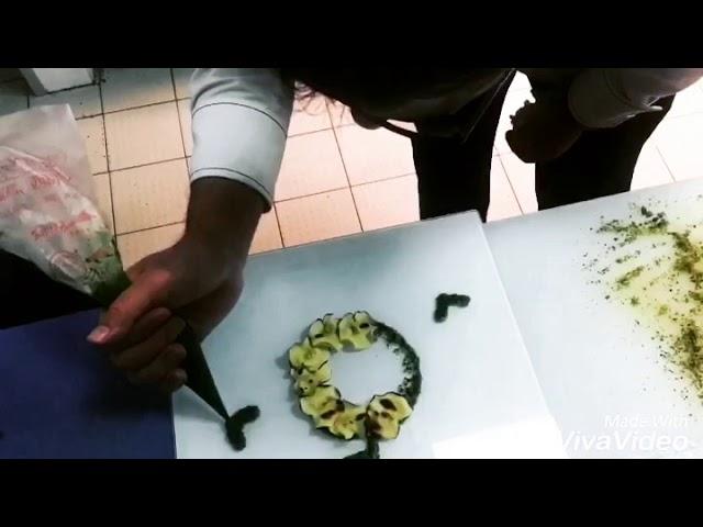 Yeşil elma arancini / Green apple arancini