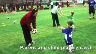 U4 Active Start Soccer Session