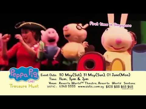 Peppa Pig LIVE! Treasure Hunt in Singapore 2015