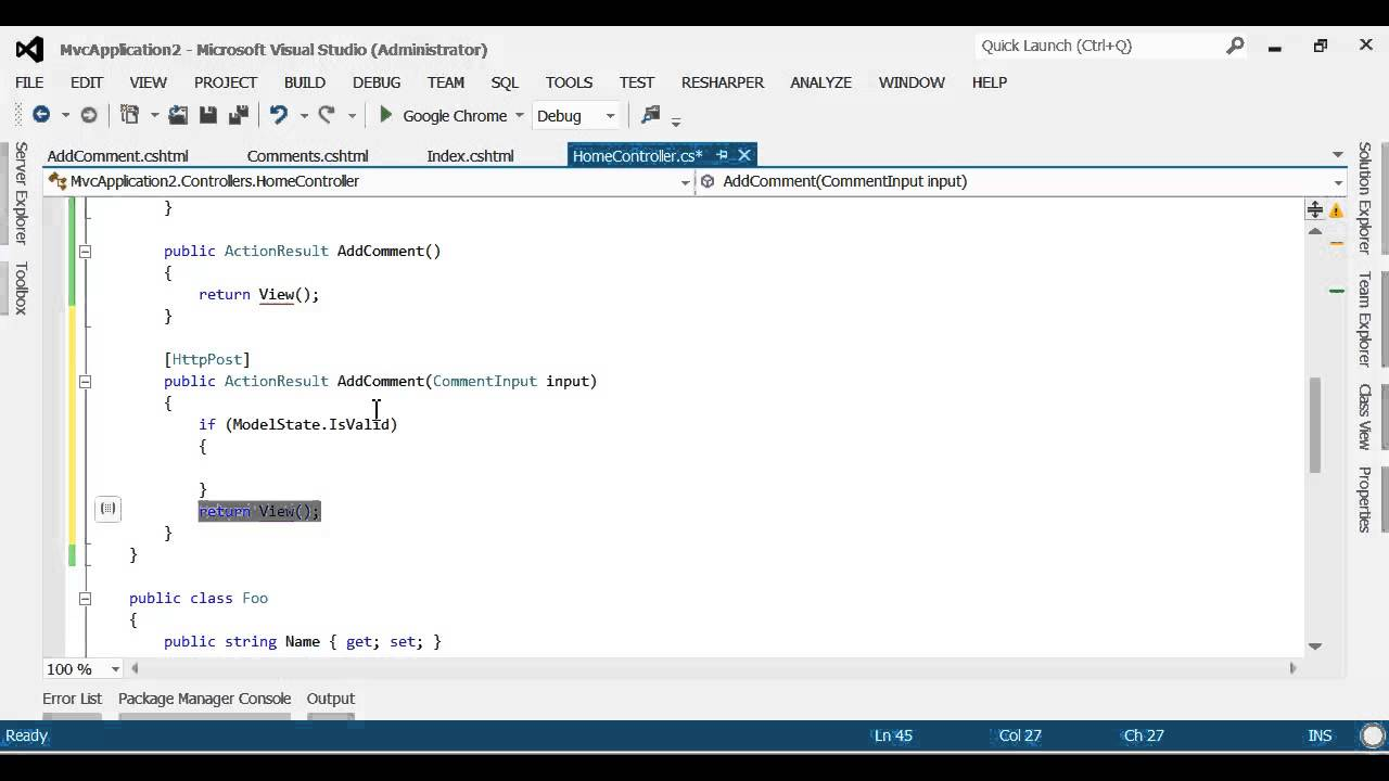 Expertrating asp. Net tutorial, begining web forms.