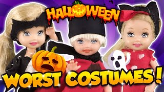 Barbie - The Horrible Halloween Costumes | Ep.279