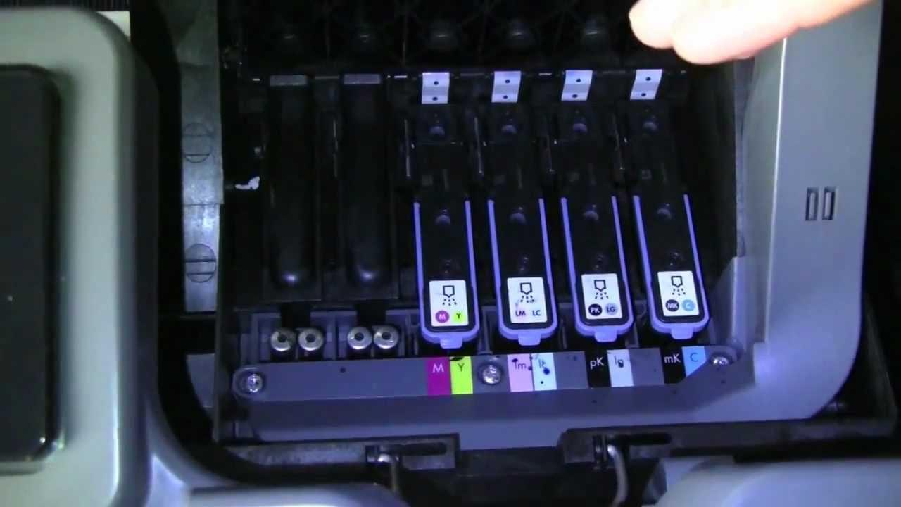 Hp Designjet Z2100 Printer Ink System Overview Part 1