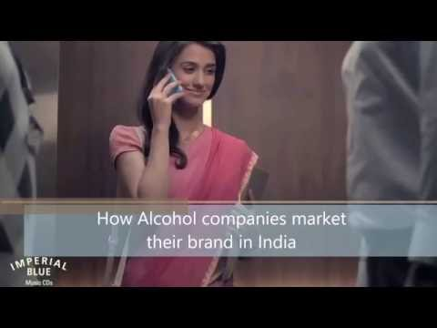 How Alcohol brands are promoted in India