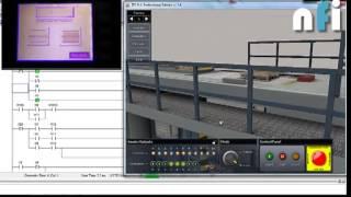 plc palletizer interactive training system mission 3