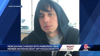 Mexican man accused of murdering crew member aboard fishing boat