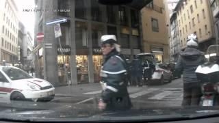 Общение с ИДПС. Муниципальная полиция Флоренции.
