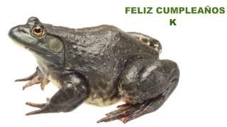 K   Animals & Animales - Happy Birthday