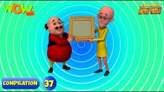 Motu Patlu - 6 episodios en 1 hora | Animación en 3D para niños | #37