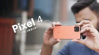 I Used the Pixel 4 in India!