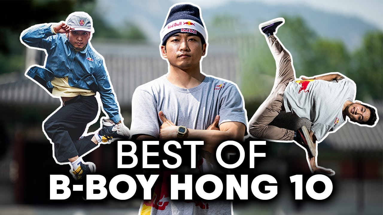 B-Boy Hong 10's BEST moments | 10 YEARS of Red Bull BC One All Stars