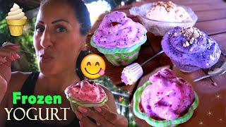 FROZEN YOGURT Fatto in Casa in 1 minuto!!! GELATO Senza gelatiera!!! | Carlitadolce