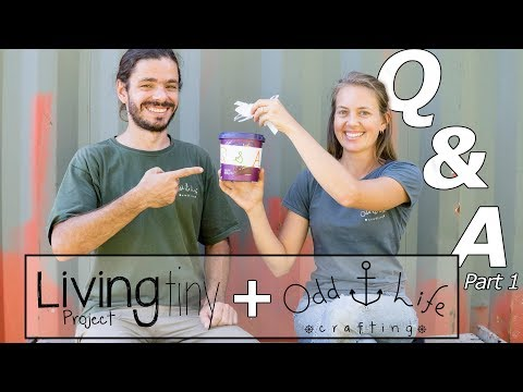 Questions and Answers Shipping Container House - Living Tiny Project ep 024