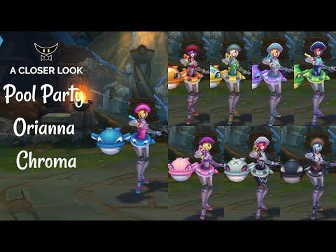 Pool Party Orianna Chromas