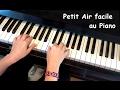[TUTO] Petit air facile au piano  (débutant)