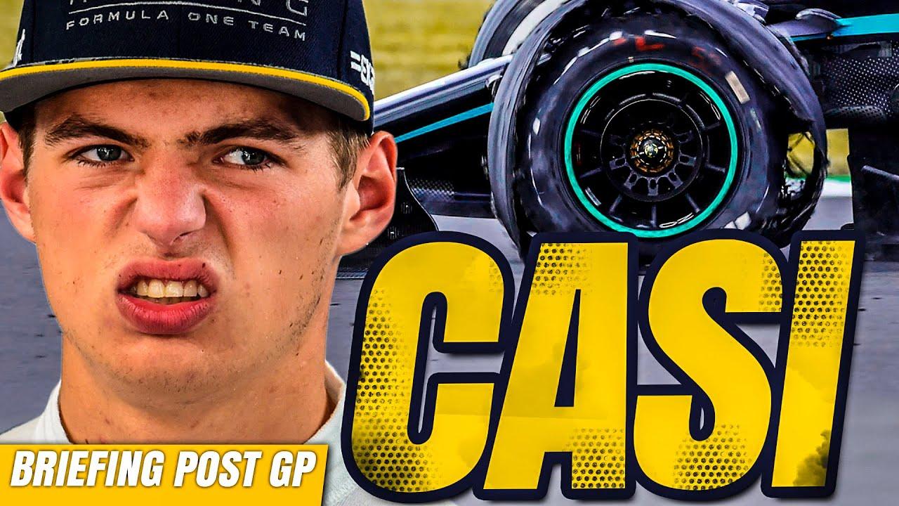 ¿TIRÓ la victoria Verstappen por la vuelta rápida? Mercedes GANA y pone el SHOW   GP Gran Bretaña F1